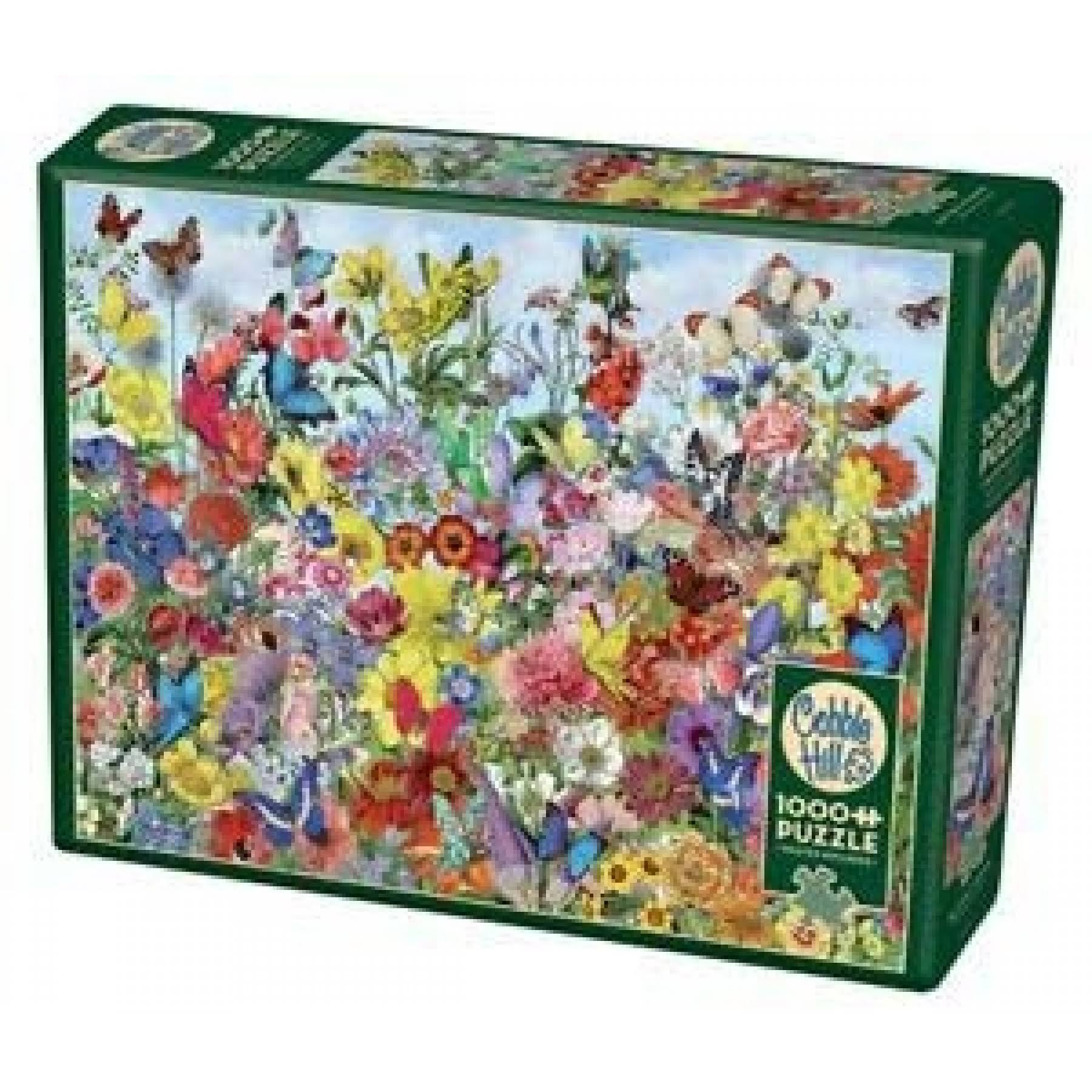 Cobble Hill Butterfly Garden 1000 PC Puzzle