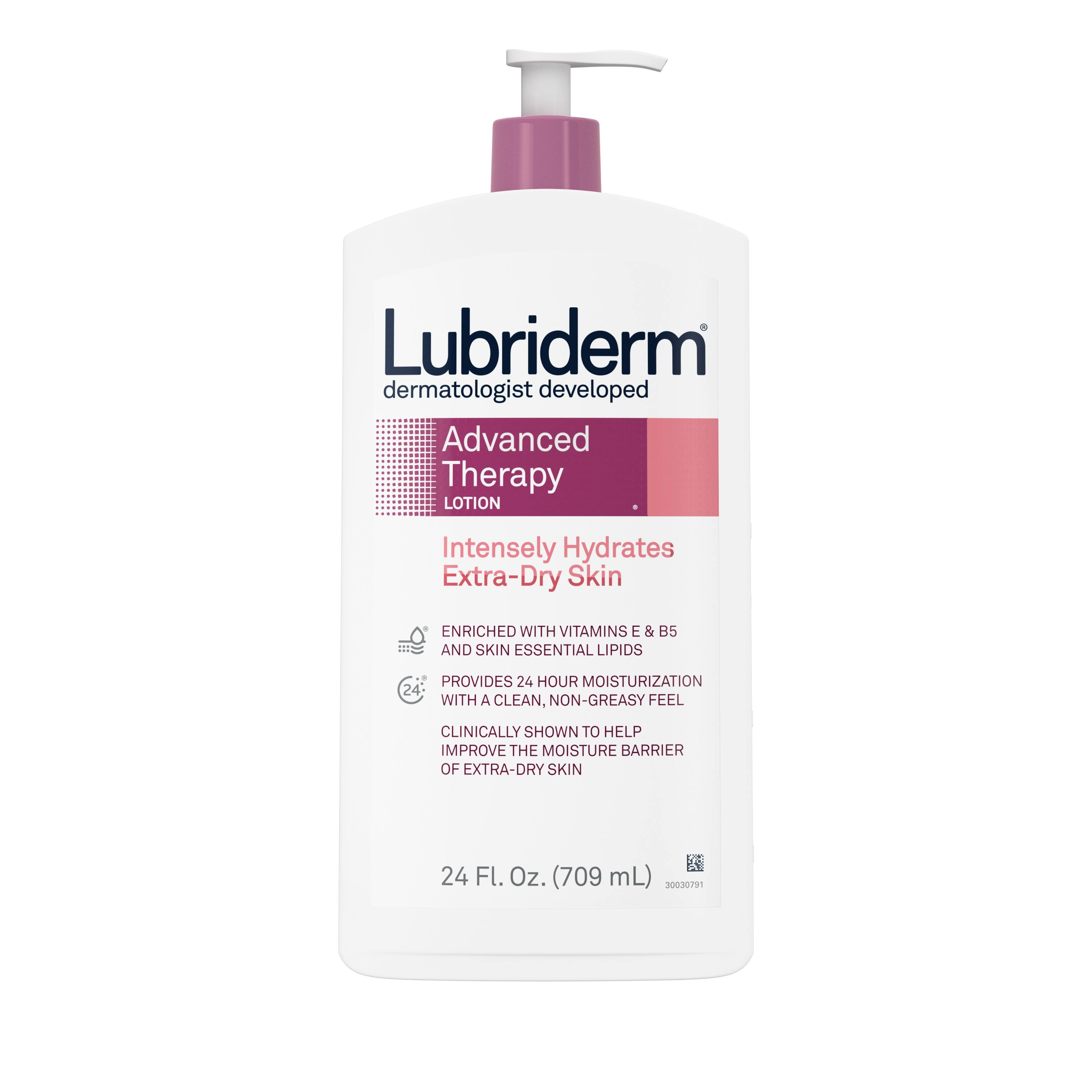 Lubriderm Advanced Therapy Moisturizing Lotion - 24oz