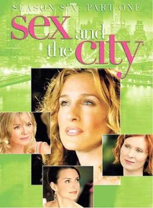 Sex and The City Season 6 Part 1 DVD