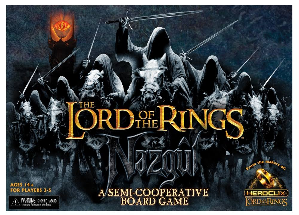 Neca Lord of the Rings Nazgul Board Game