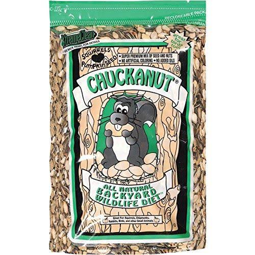 Chuckanut Products Backyard Wildlife Diet Feed - 3lbs