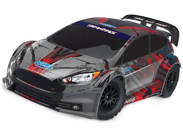 Traxxas Ford Fiesta St RTR 1/10 4wd Rally Rc Car - Black