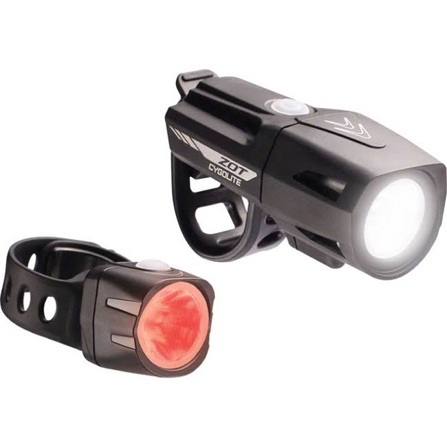 Cygolite Zot Light Set - 250 Headlight & Dice 50 Tailight Bike