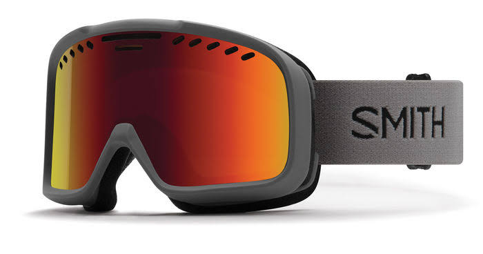Goggles Smith Project Charcoal Red Sol-X Mirror