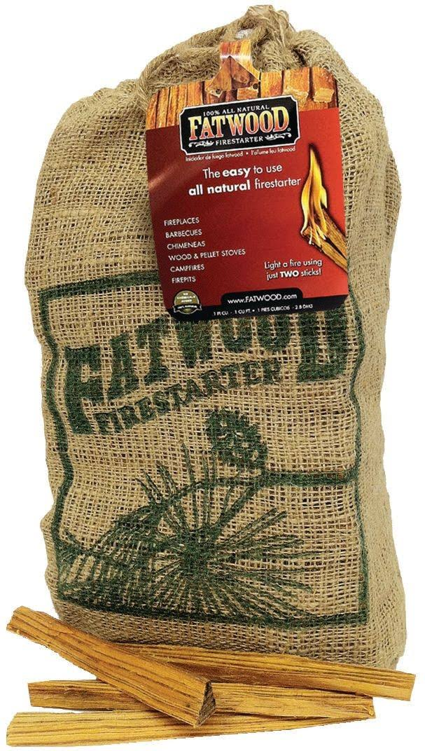 Fatwood All Natural Fire Starters - 8lbs
