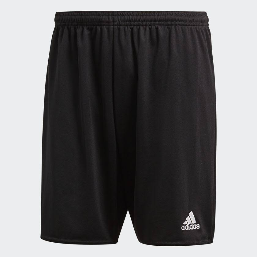Adidas Youth Parma 16 Shorts - Black and White, X-Large