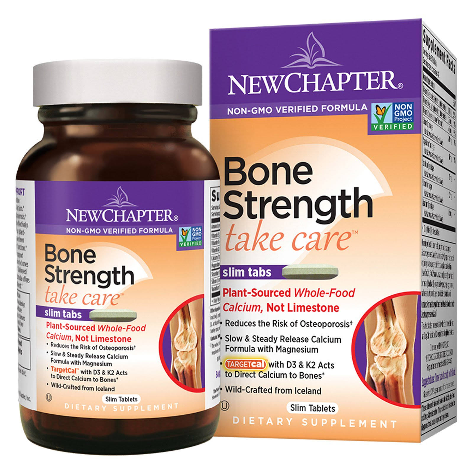 New Chapter Bone Strength Take Care Tablets