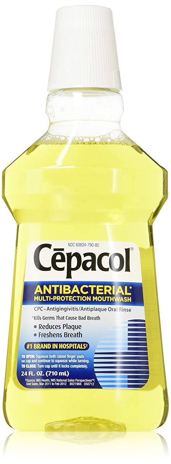 Cepacol Antibacterial Gold Mouthwash