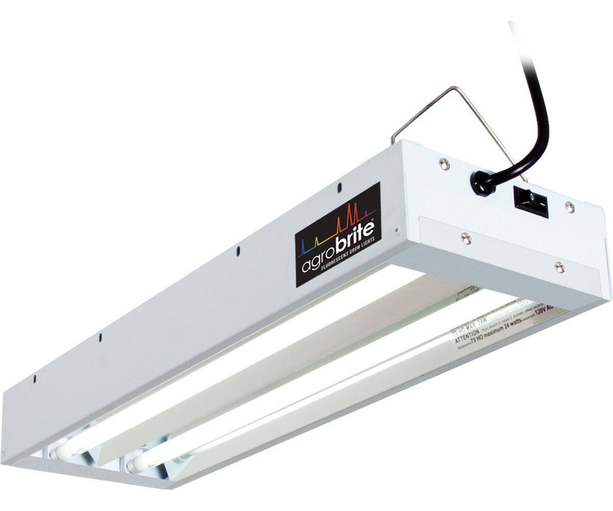 EnviroGro T5 2 Tube Fixture - 2', with Bulbs