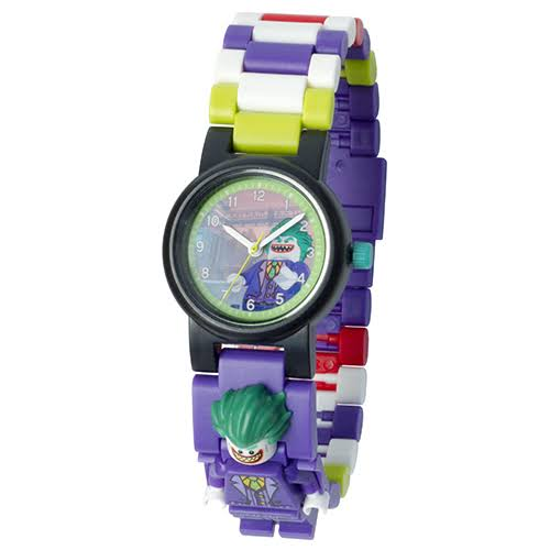 Lego Batman Movie The Joker Minifigure Watch - 24pc