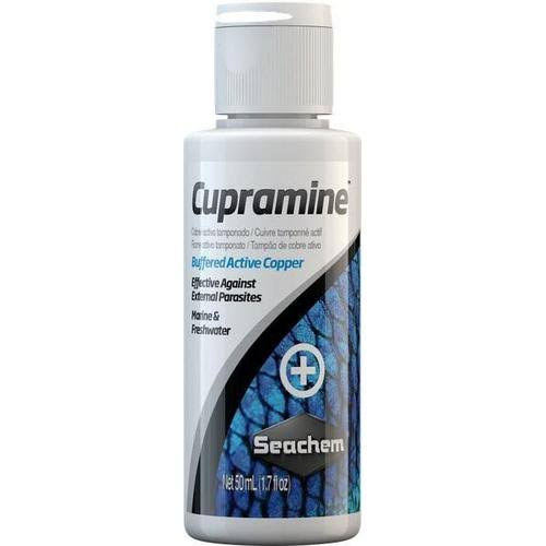 Seachem Laboratories Cupramine Buffered Active Copper - 50ml