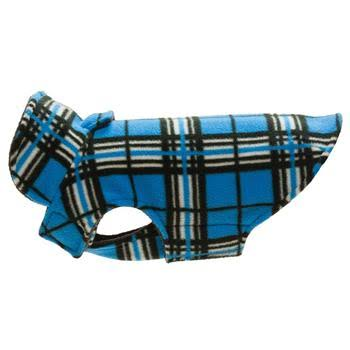 RC Pet Products Whistler Winter Dog Coat - Blue Tartan Size 24,