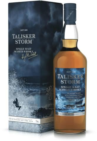 Talisker Storm Single Malt Scotch - 750 ml bottle
