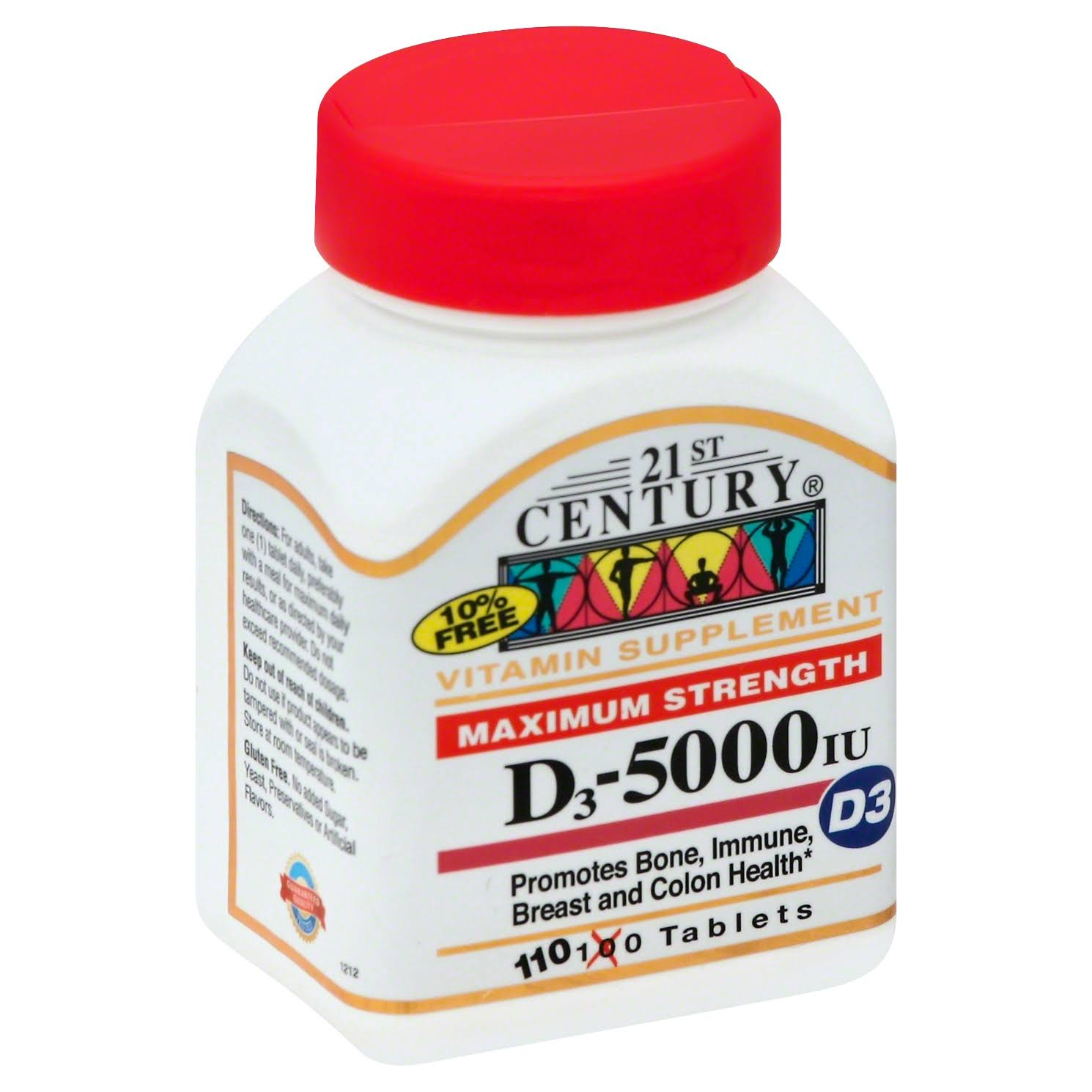 21st Century Maximum Strength Vitamins Tablet - 110ct