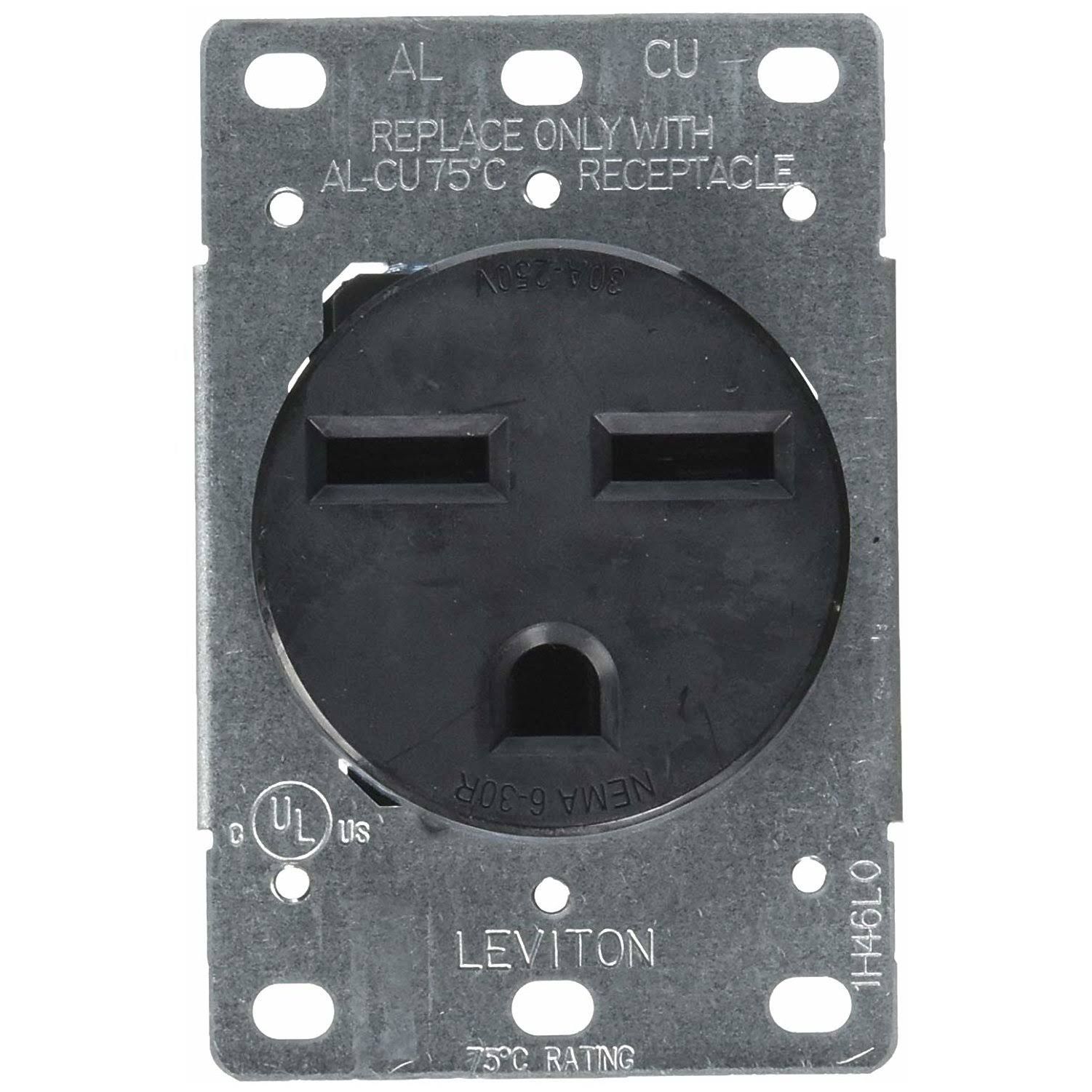 Leviton Flush Outlet R10-05372-S00