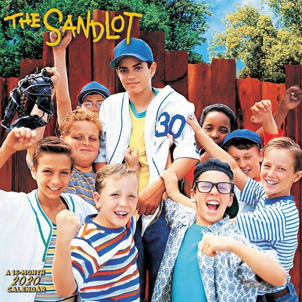Mead The Sandlot 12x12 Monthly Wall Calendar - Entertainment