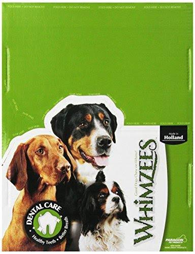 Paragon Whimzees Alligator Dental Treat for Dogs Small 100 Count