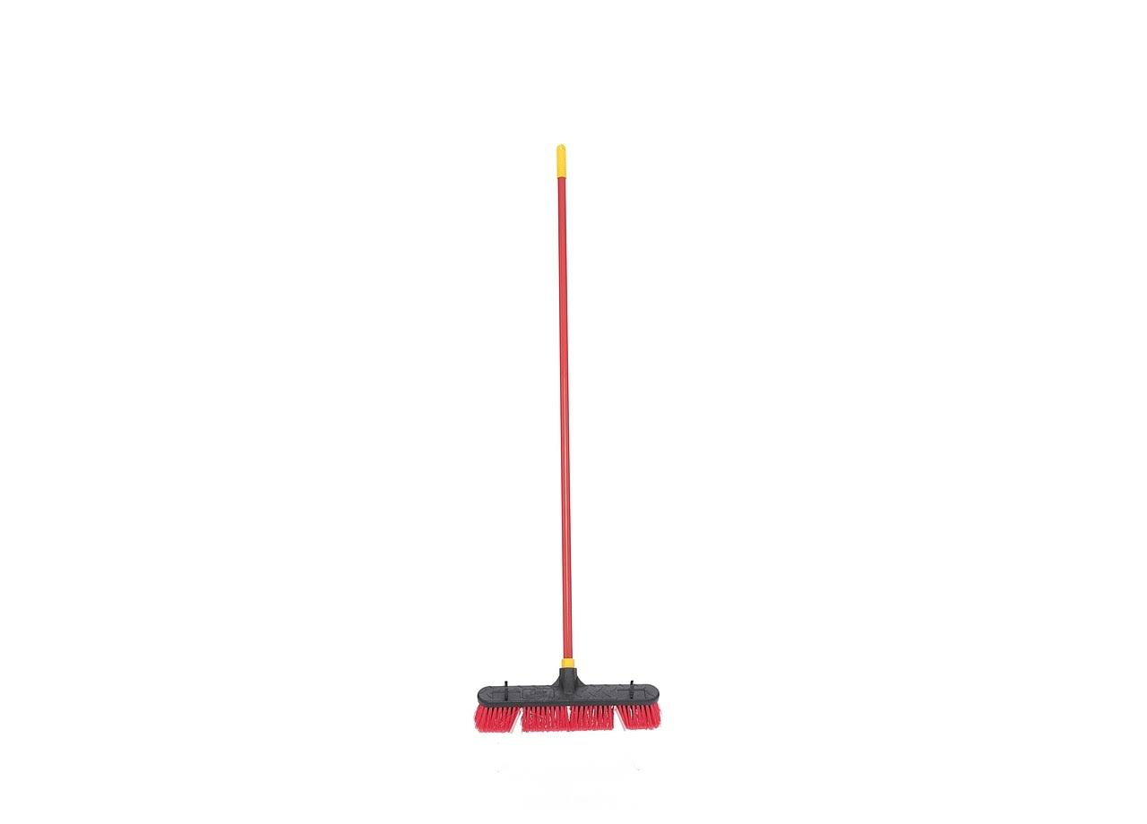 Bulldozer Indoor Outdoor Push Broom - 18in
