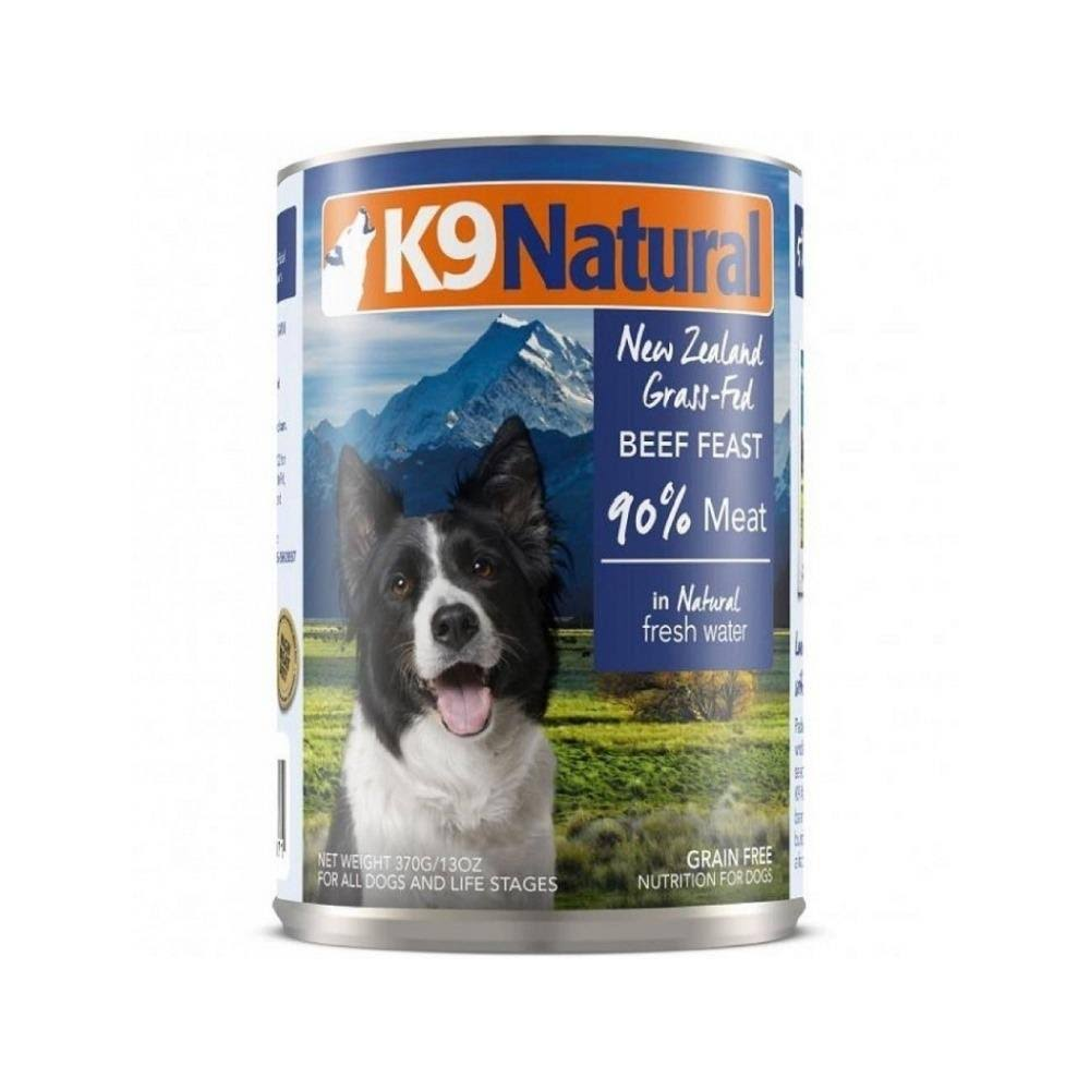 K9 Natural Freeze Dried Dog Food - 370g, Beef Feast