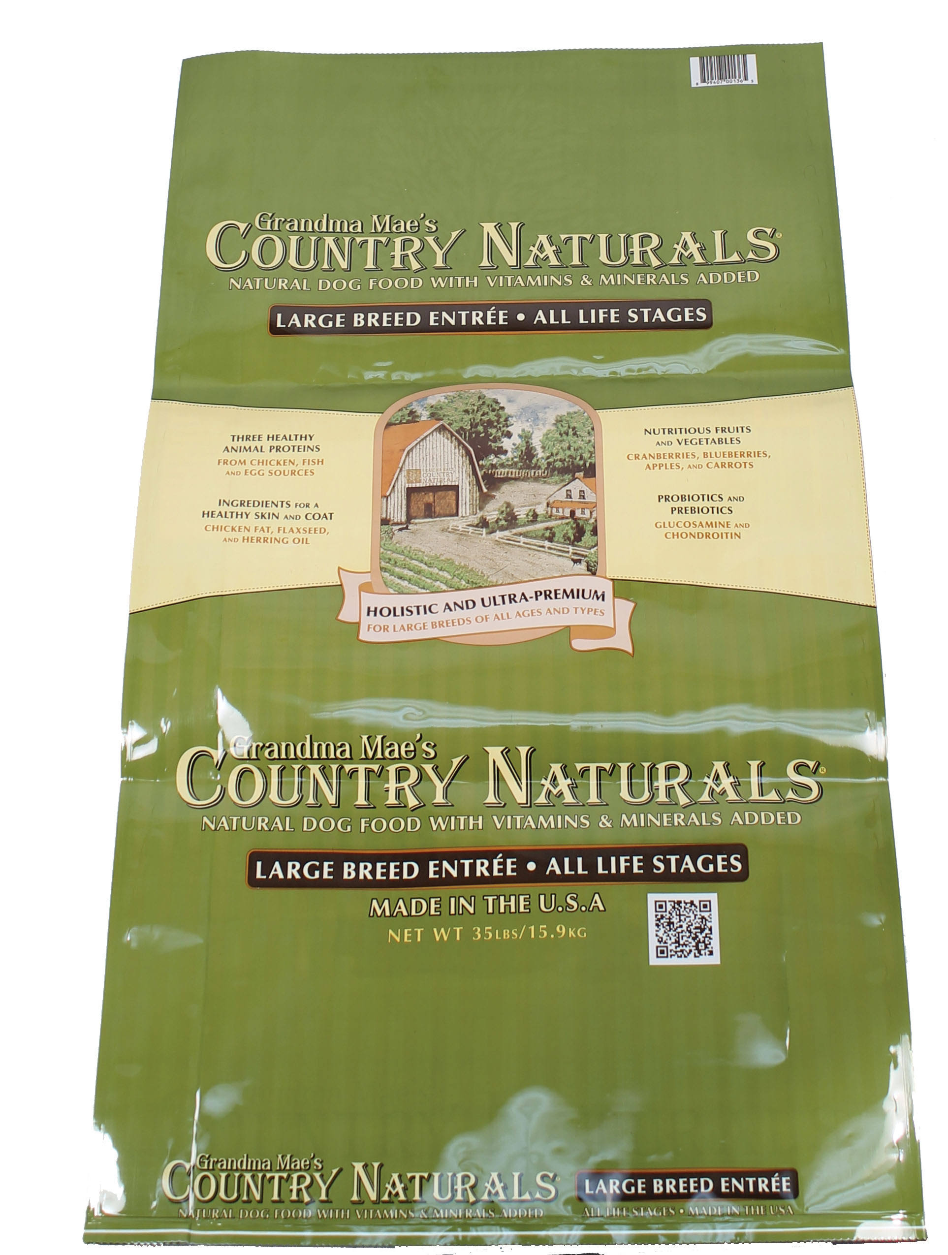 Grandma Mae S Country Nat Large Breed Dog Food 35 lb