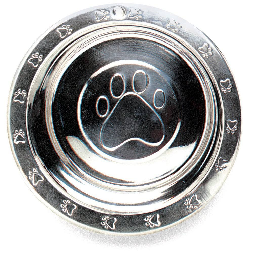 Ethical Stainless Steel Embossed Dog Bowl - 16oz