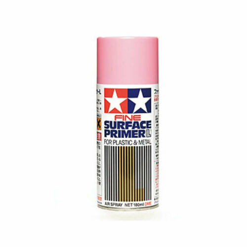 Tamiya 87146 Fine Surface Primer - Pink, 180ml