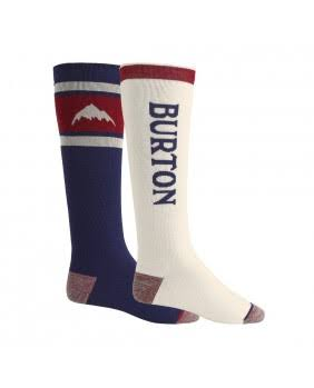 Burton Weekend Midweight Socks 2 Pack Mood Indigo