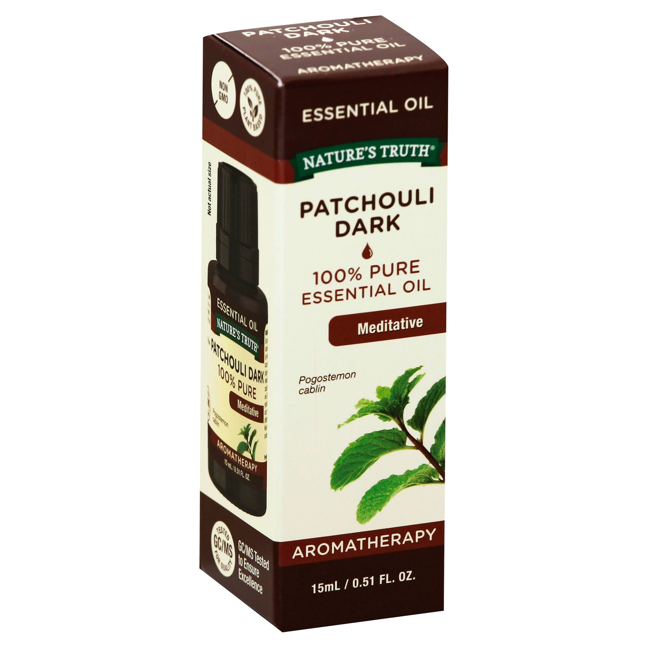 Natures Truth Aromatherapy Essential Oil - Patchouli Dark, 0.51oz