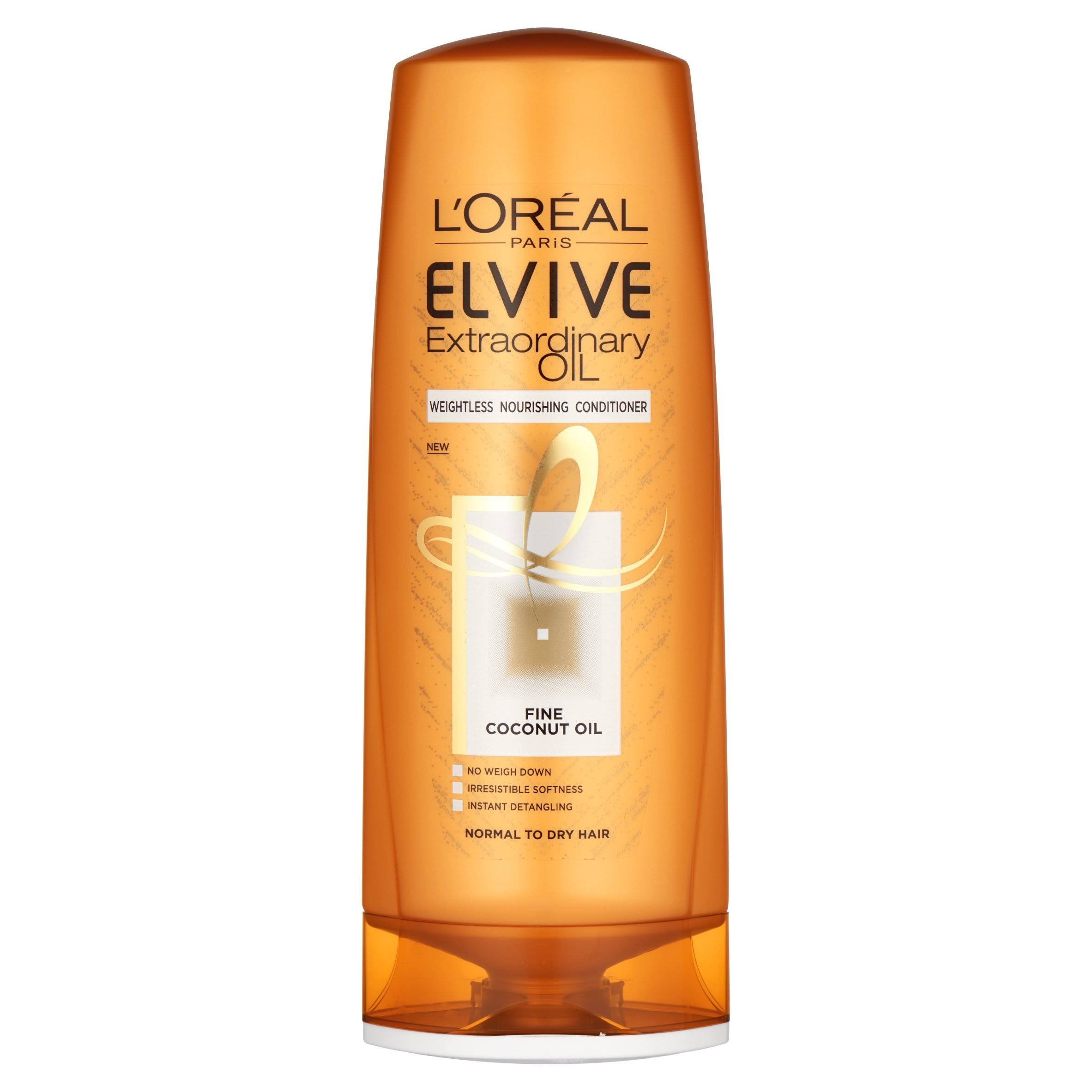 L Oreal Elvive Extraordinary Oil Coconut Conditioner - 400ml
