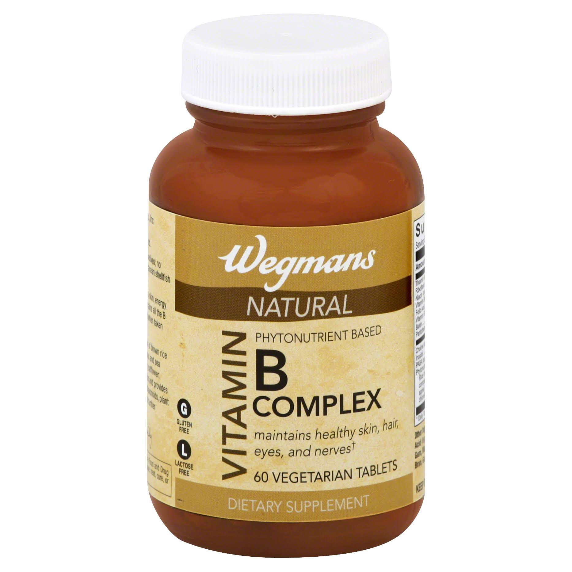 Better Bodies By Chemistry 24031 Phytonutrient Based B-Complex Vegetarian Tablets