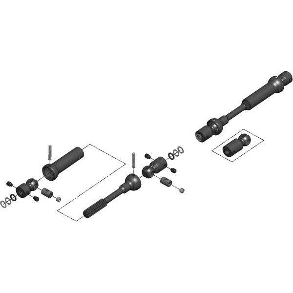 MIP Center Drive Kit - 115mm to 140mm