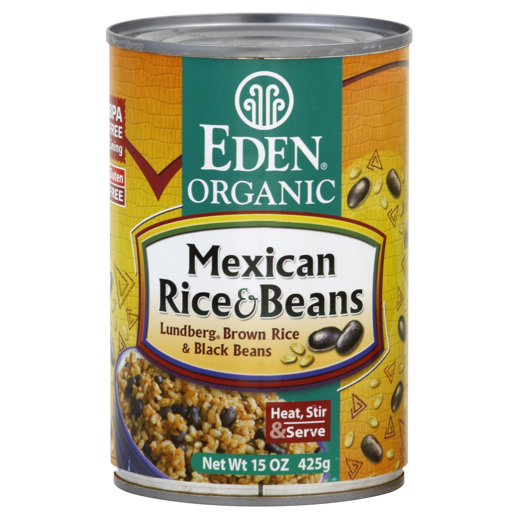 Eden Foods Organic Mexican Rice and Beans - 15oz