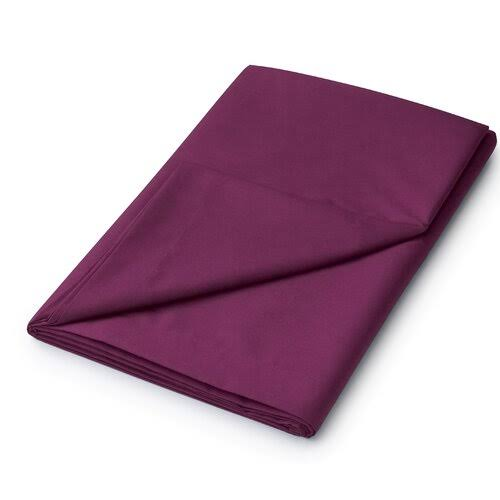 Helena Springfield, 50/50 Percale Double Flat Sheet, Mulberry