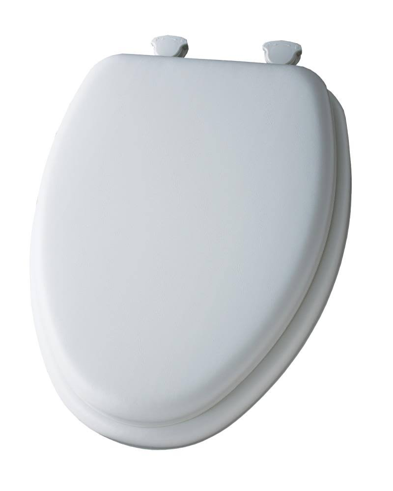 Mayfair Soft Elongated Closed Front Toilet Seat - Bone