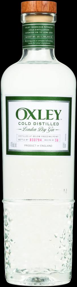 Oxley Gin London Dry 750ml
