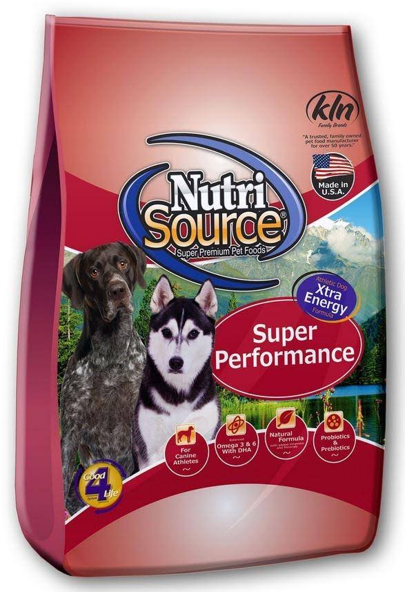 Tuffy's Pet Food Nutrisource Super Performance Dry for Dogs - 40lbs