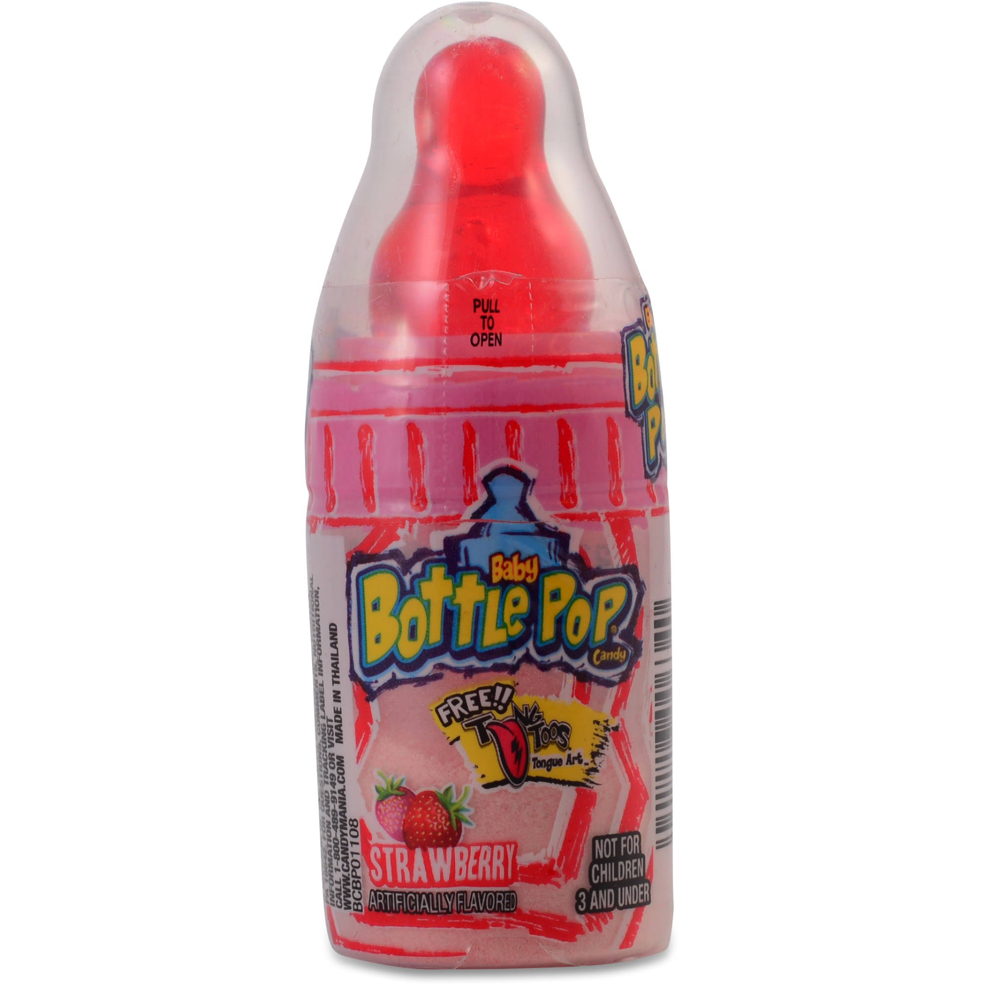 Baby Bottle Candy, Blue Raspberry - 0.85 oz