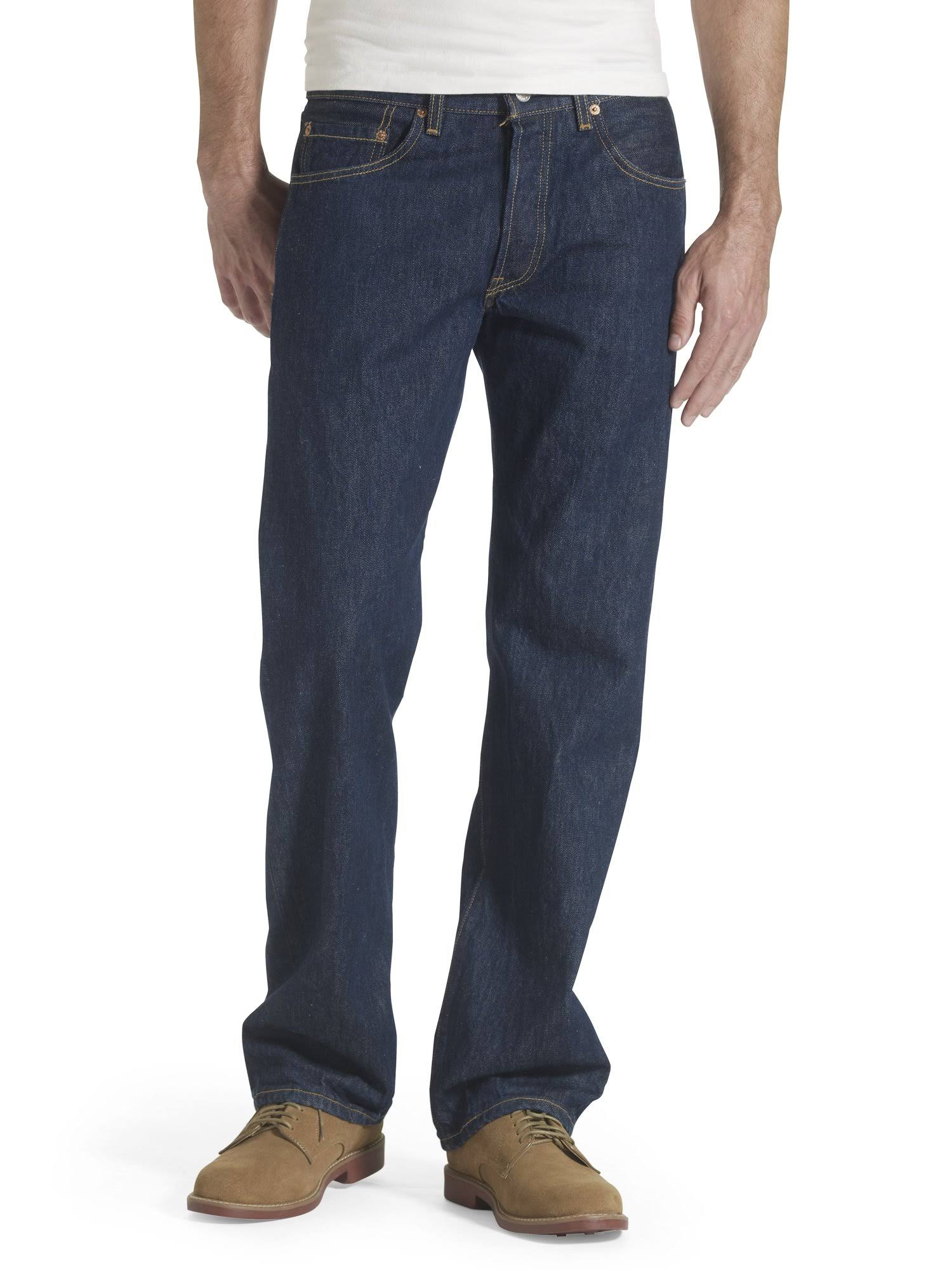"Levi's Men's 501 Original-Fit Jean - Rinse, 29""x30"""