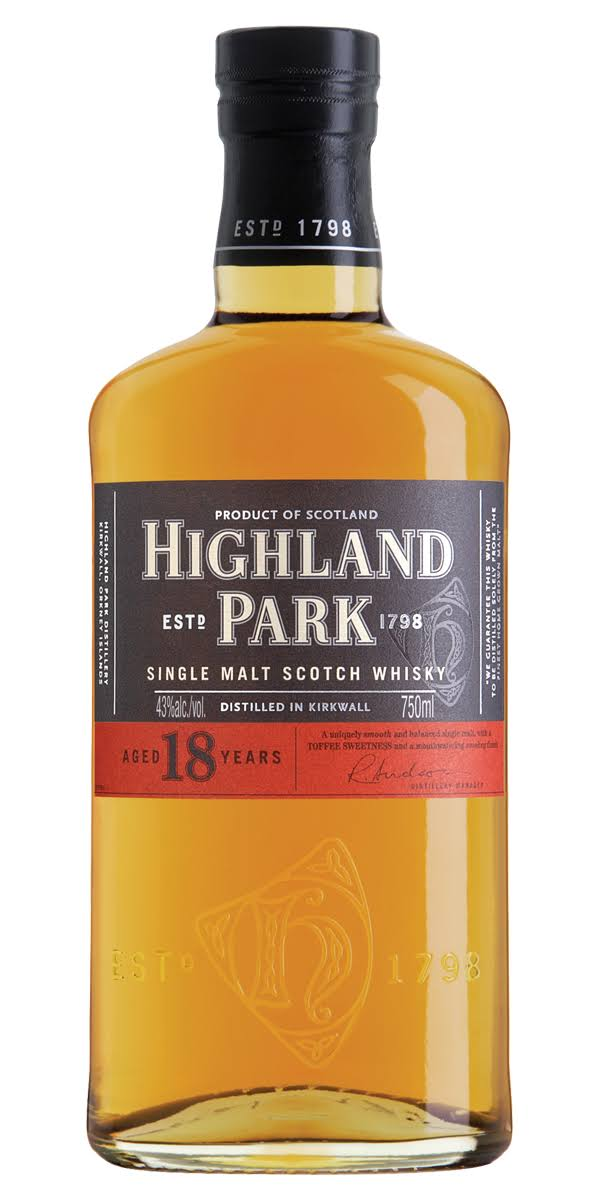 Highland Park Single Malt Scotch Whisky - 750 ml