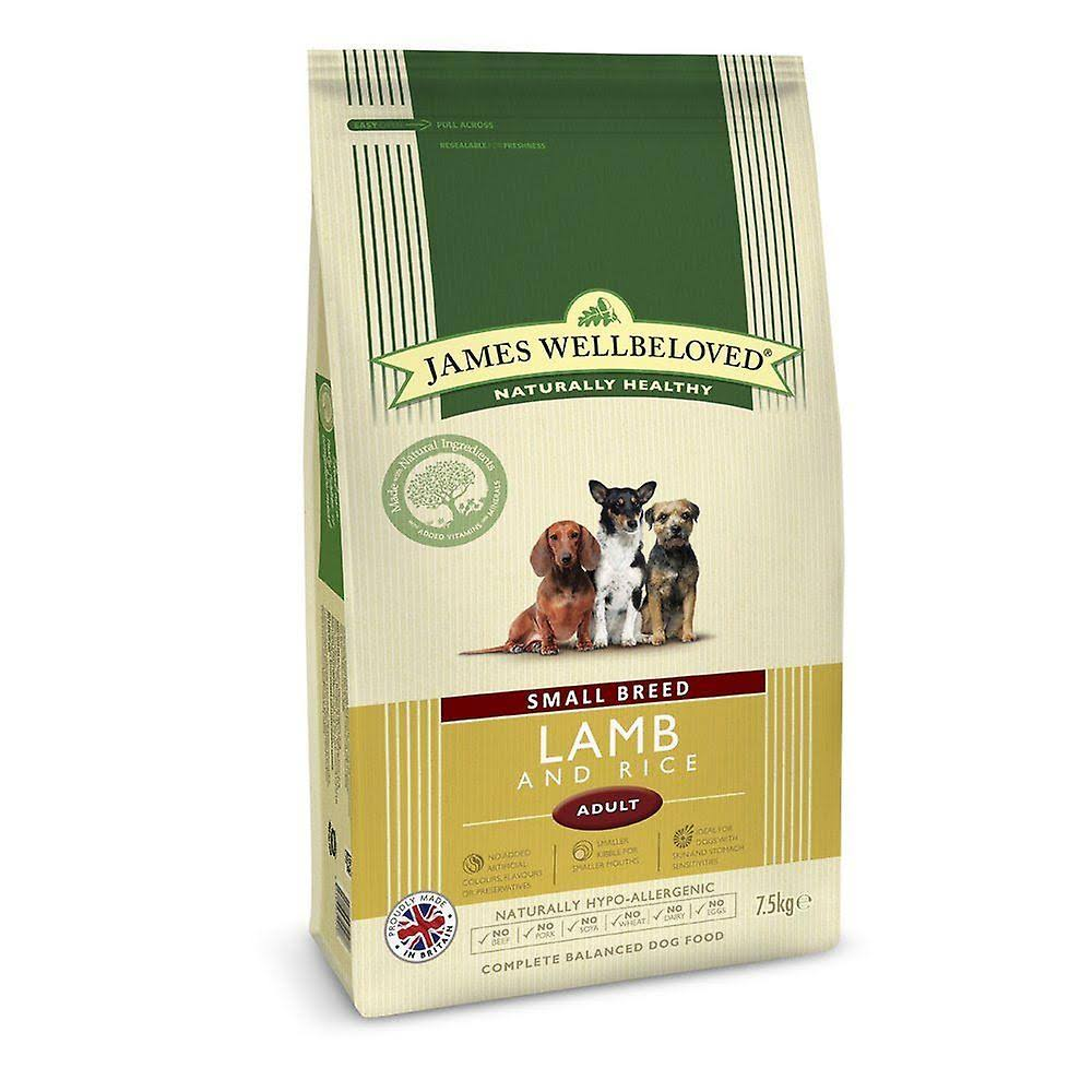 James Wellbeloved Small Breed Adult Dog Kibble - Lamb & Rice