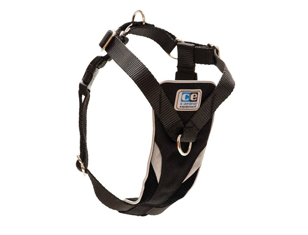 Canine Equipment Ultimate Control Dog Harness - X-Small, Black