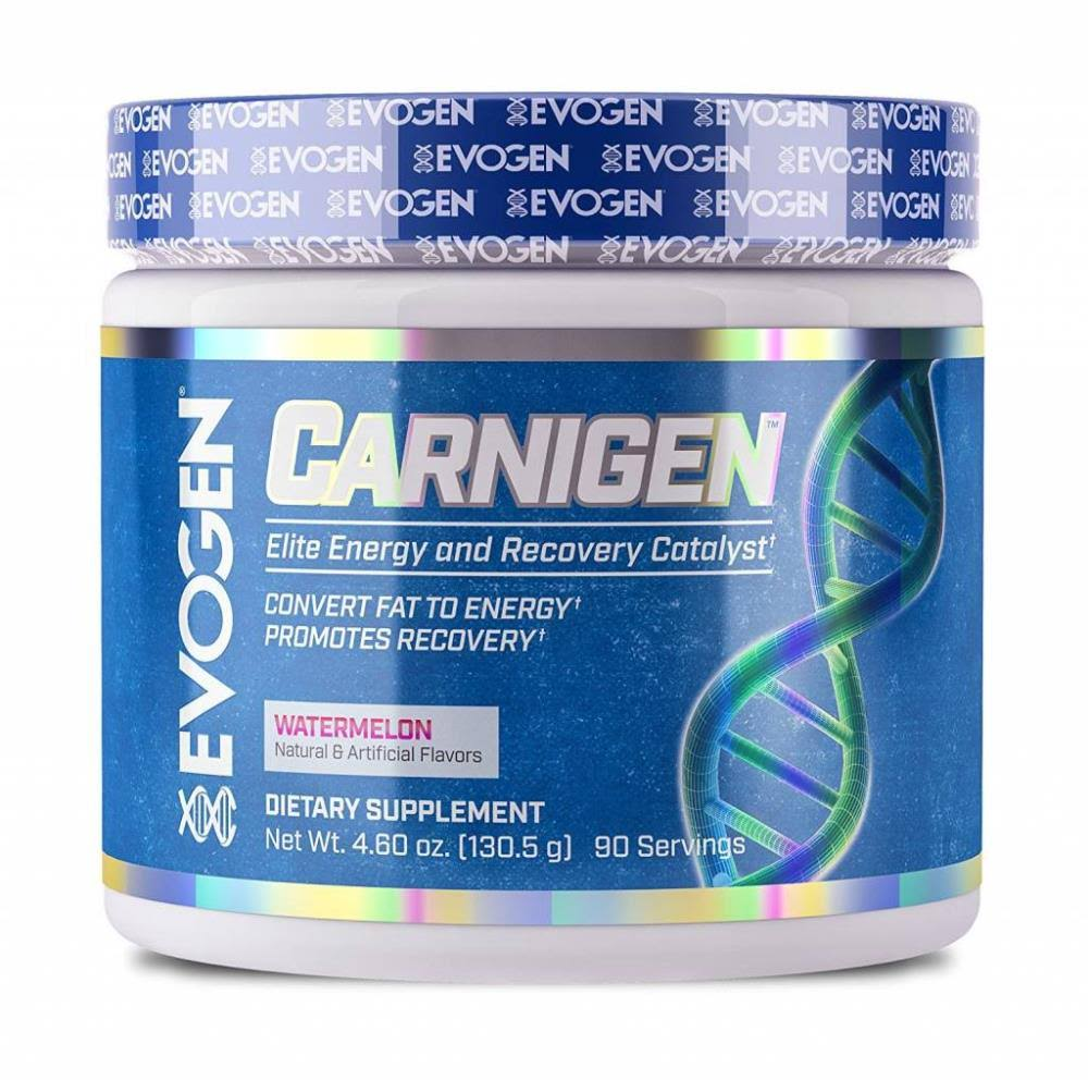 Evogen Carnigen Fat Burning Carnitine Powder - Raspberry Lemonade