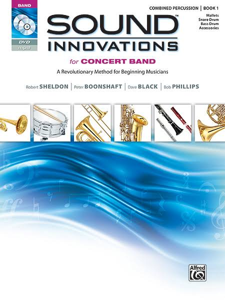 Alfred Sound Innovations for Concert Band Music Book - Book 1 For Percussion, Alfred Publishing