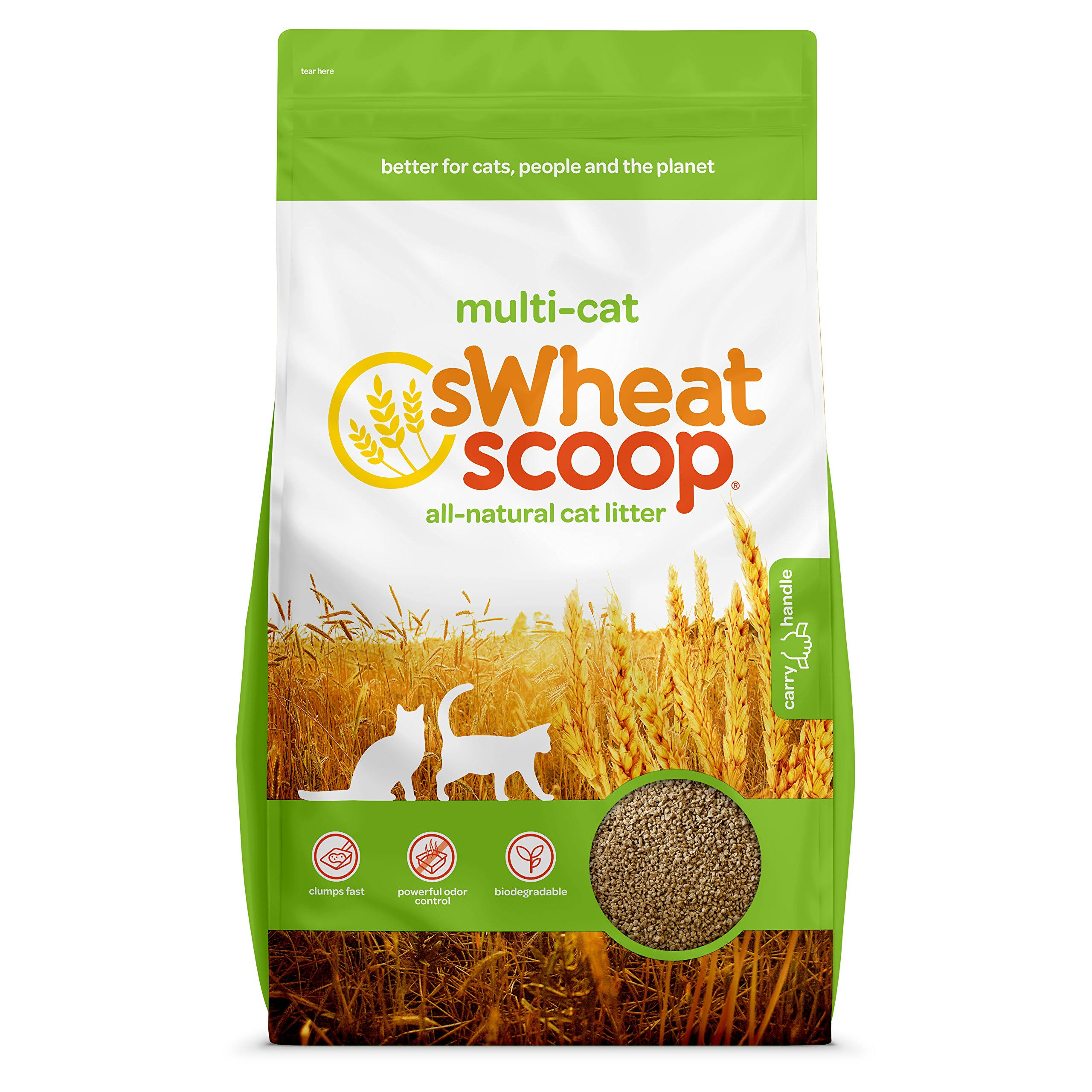 Swheat Scoop Natural Fast-Clumping Cat Litter - 16.3kg