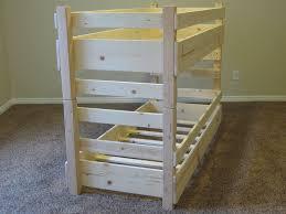 Wood Bunk Beds Plans by Toddler Bunk Bed Plans Bed Plans Diy U0026 Blueprints