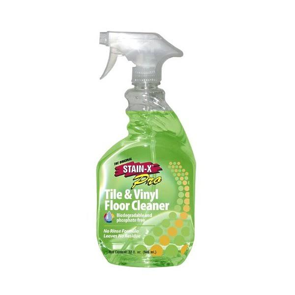 Stain-X Pro Tile & Vinyl Floor Cleaner - 32oz