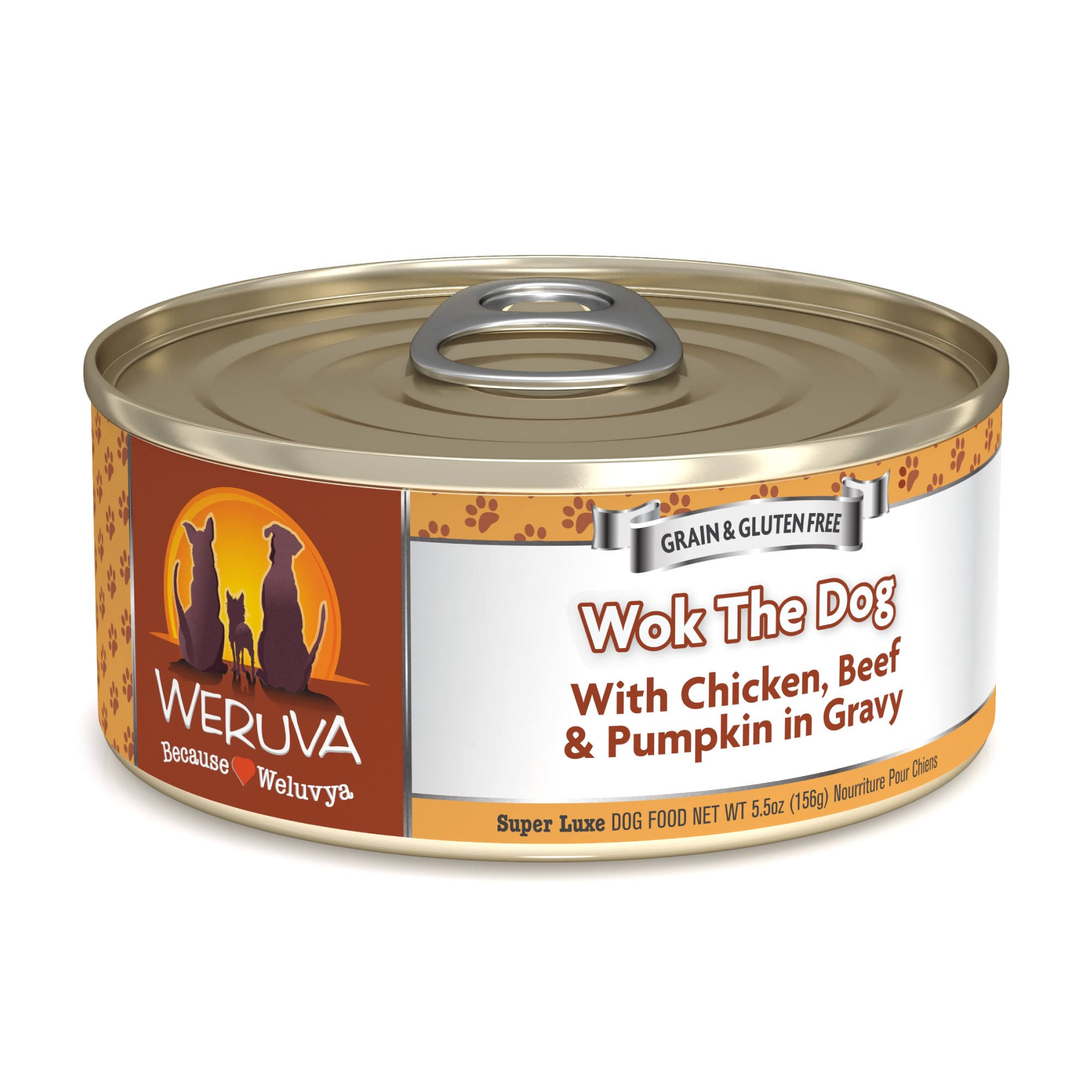 Weruva Wok The Dog Canned Dog Food - 5.5oz