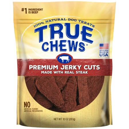 Tyson True Dog Chews - Premium Jerky Cuts Steak - 10oz
