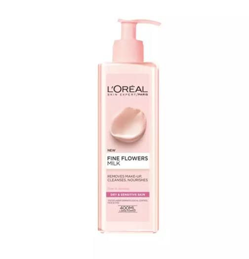 L'Oreal Paris Fine Flowers Cleansing Milk - 400ml