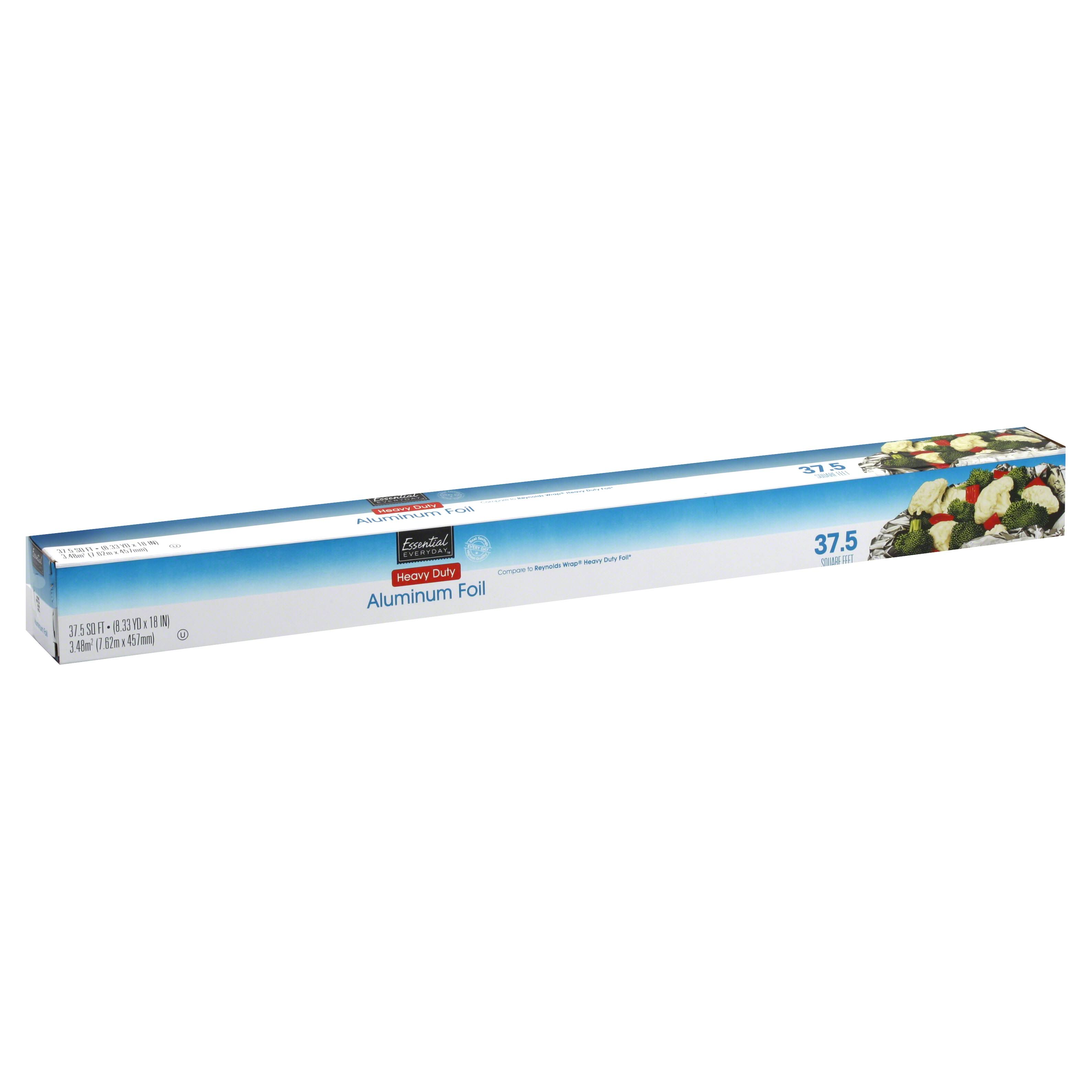Essential Everyday Aluminum Foil - Heavy Duty, 37.5'